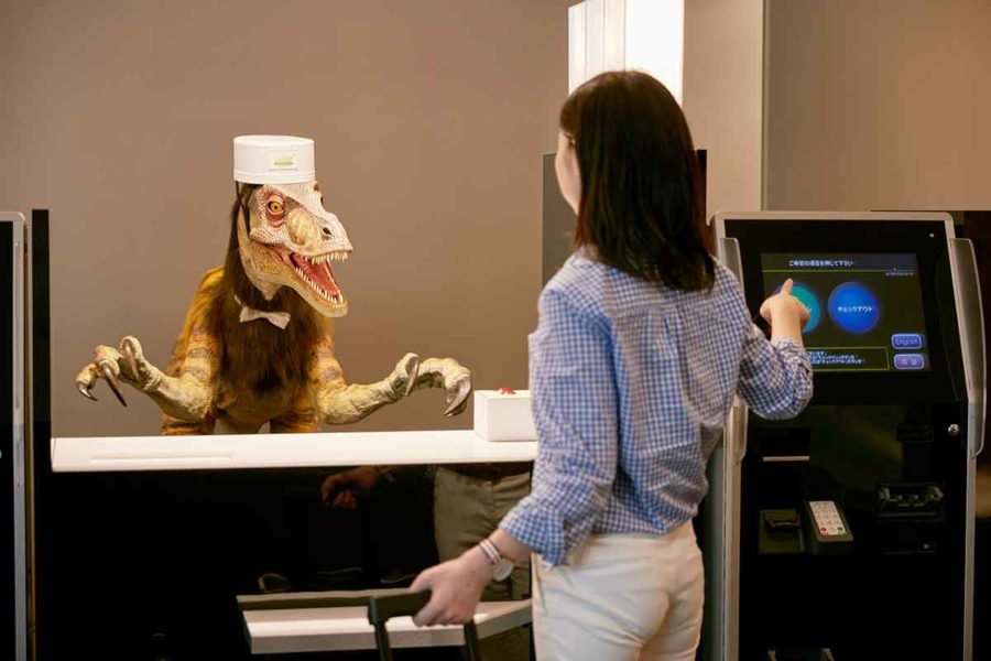 Japanese Hotel Chain Is Making a Staff of ROBOTS!