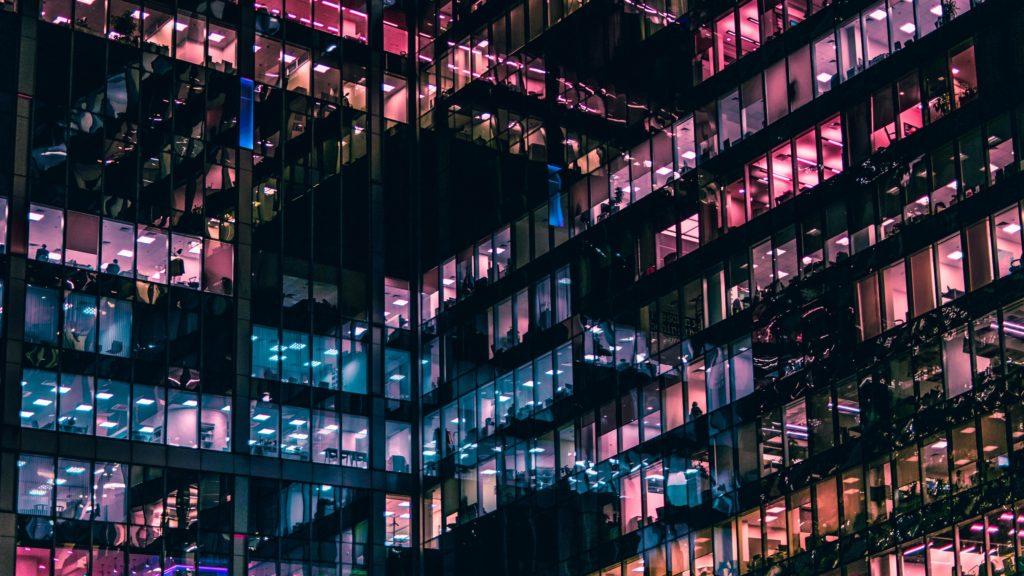 innovation lights building
