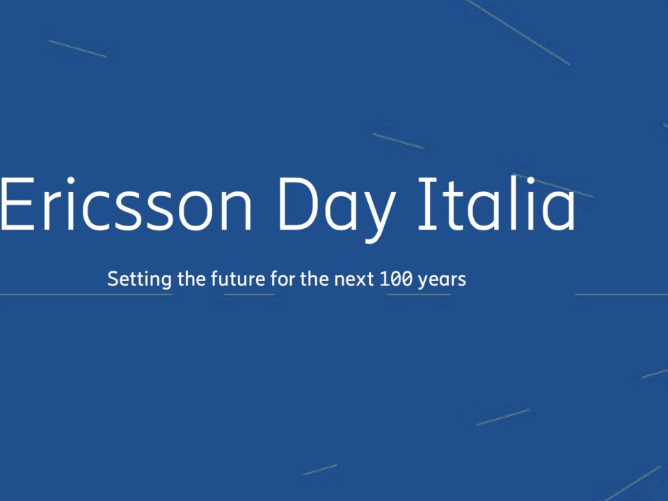 Ericsson Innovation Day